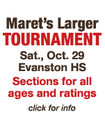 Maret's Larger Tournament - All Ages and Ratings